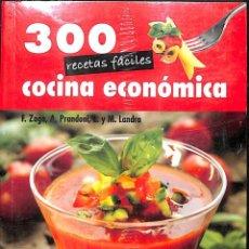 Libros de segunda mano: 300 RECETAS FACILES COCINA ECONOMICA / VECCHI. Lote 187324957
