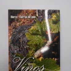 Libros de segunda mano: VINOS DIVINOS 2007 / GUÍA DE VINOS Y BODEGAS DE LA DENOMINACIÓN ORIGEN BIERZO Y TIERRAS DE LEÓN. Lote 187605513