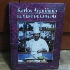 Libros de segunda mano: KARLOS ARGUIÑANO EL MENU DE CADA DIA RTVE EDICIONES DEL SERVAL VOL.Nº1 EDICIÓN 1992. Lote 187641190