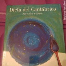 Libros de segunda mano: DIETA DEL CANTÁBRICO. Lote 188563086