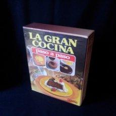 Libros de segunda mano: LA GRAN COCINA PASO A PASO - 6 TOMOS - EDITORIAL OCEANO . Lote 189213223