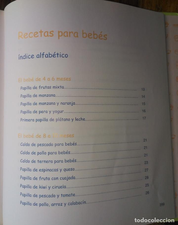 Libros de segunda mano: Recetas para bebés y niños, de Graciela Bajraj - Foto 3 - 189555963