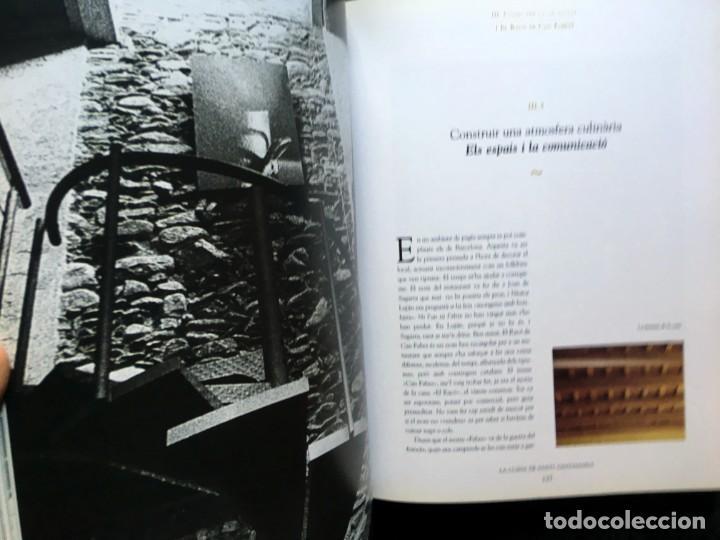Libros de segunda mano: LA CUINA DE SANTI SANTAMARIA EL RACÓ DE CAN FABES - LÈTICA DEL GUST - 1999 - PRIMERA EDICIÒ - - Foto 4 - 189974840