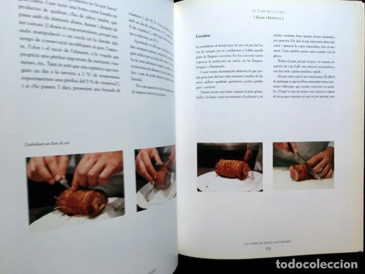 Libros de segunda mano: LA CUINA DE SANTI SANTAMARIA EL RACÓ DE CAN FABES - LÈTICA DEL GUST - 1999 - PRIMERA EDICIÒ - - Foto 5 - 189974840