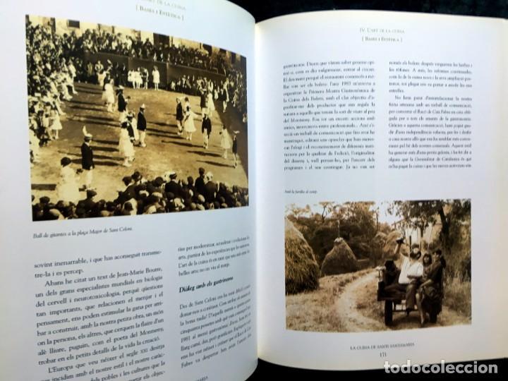 Libros de segunda mano: LA CUINA DE SANTI SANTAMARIA EL RACÓ DE CAN FABES - LÈTICA DEL GUST - 1999 - PRIMERA EDICIÒ - - Foto 7 - 189974840