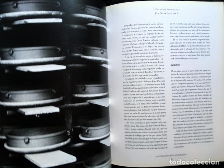 Libros de segunda mano: LA CUINA DE SANTI SANTAMARIA EL RACÓ DE CAN FABES - LÈTICA DEL GUST - 1999 - PRIMERA EDICIÒ - - Foto 15 - 189974840