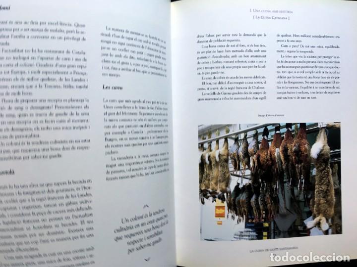 Libros de segunda mano: LA CUINA DE SANTI SANTAMARIA EL RACÓ DE CAN FABES - LÈTICA DEL GUST - 1999 - PRIMERA EDICIÒ - - Foto 16 - 189974840
