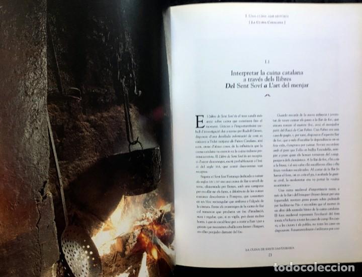 Libros de segunda mano: LA CUINA DE SANTI SANTAMARIA EL RACÓ DE CAN FABES - LÈTICA DEL GUST - 1999 - PRIMERA EDICIÒ - - Foto 17 - 189974840
