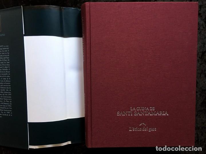 Libros de segunda mano: LA CUINA DE SANTI SANTAMARIA EL RACÓ DE CAN FABES - LÈTICA DEL GUST - 1999 - PRIMERA EDICIÒ - - Foto 20 - 189974840