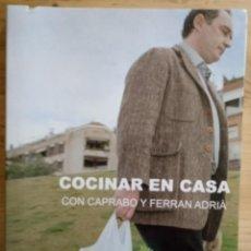Libros de segunda mano: COCINAR EN CASA CON CAPRABO Y FERRAN ADRIÀ - CUADERNO Nº 1 - RESTAURANTE EL BULLI 2003. Lote 190023418