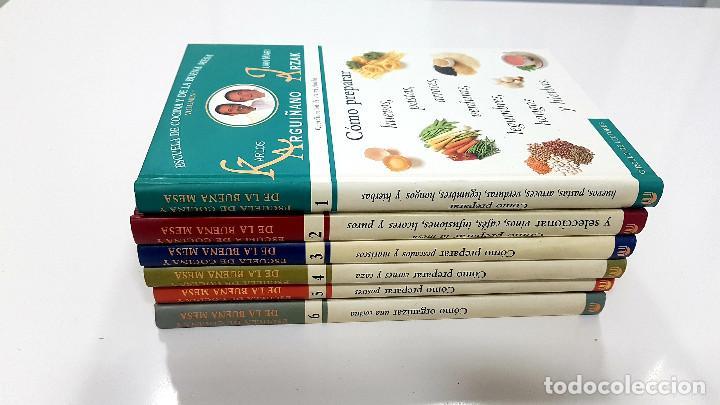 ENCICLOPEDIA ESCUELA DE COCINA Y DE LA BUENA MESA. KARLOS ARGUIÑANO Y JUAN MARI ARZAK (COMPLETA) (Libros de Segunda Mano - Cocina y Gastronomía)