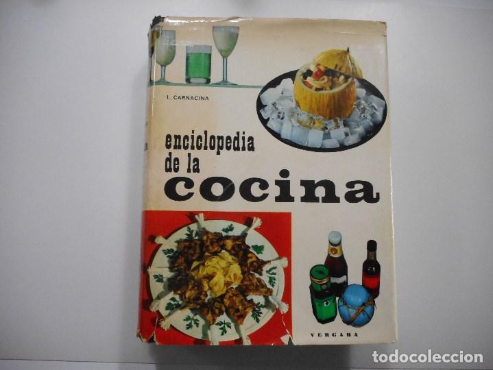 LUIGI CARNACINA ENCICLOPEDIA DE LA COCINA Y97737 (Libros de Segunda Mano - Cocina y Gastronomía)