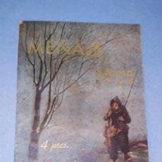 Libros de segunda mano: MENAJE REVISTA MENSUAL PARA LA MUJER Y EL HOGAR Nº 180 NAVIDAD 1945 AÑO 1945 CON MUCHA PUBLICIDAD . Lote 190700722