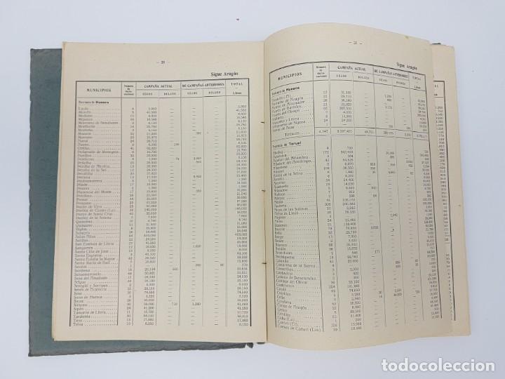 Libros de segunda mano: INSTITUTO NACIONAL DEL VINO ( ESTADÍSTICA COSECHA ) 1936 - Foto 5 - 191056993