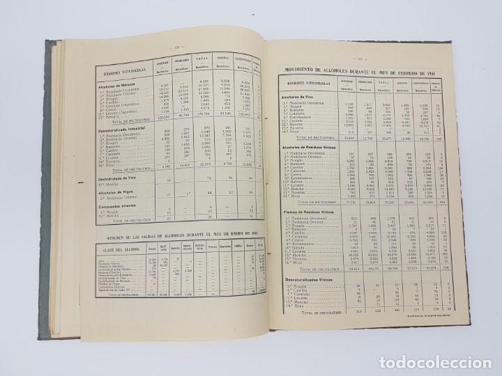 Libros de segunda mano: INSTITUTO NACIONAL DEL VINO ( ESTADÍSTICA COSECHA ) 1936 - Foto 7 - 191056993