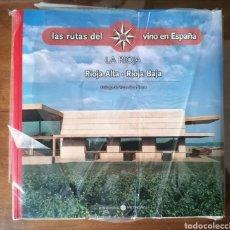 Libros de segunda mano: 3 TOMOS DE LAS RUTAS DEL VINO EN ESPAÑA: PAÍS VASCO, LA RIOJA Y CASTILLA Y LEÓN. NUEVOS. Lote 191249802