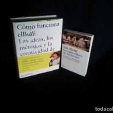 Libros de segunda mano: FERRAN ADRIA - COMO FUNCIONA EL BULLI Y LOS APRENDICES DE HECHICERO DE LISA ABEND - 2010/11. Lote 191635563