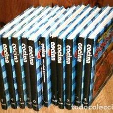 Libros de segunda mano: ENCICLOPEDIA DE LA COCINA 11T POR RICARDO MARTÍN Y OTROS DE EDITORIAL SALVAT EN NAVARRA 1979. Lote 191872470