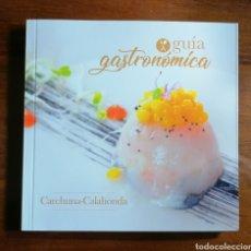 Libros de segunda mano: GUÍA GASTRONÓMICA CARCHUNA CALAHONDA. GRANADA.. Lote 191995921