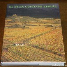 Livres d'occasion: EL BUEN GUSTO DE ESPAÑA,ANA DE LETAMENDÍA/LOURDES PLANA,EDITA MINISTERIO DE AGRICULTURA,. Lote 192671417