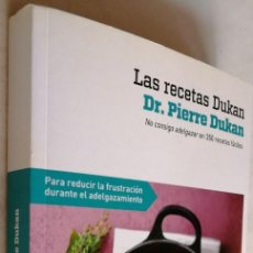 Livres d'occasion: LAS RECETAS DUKAN, DR. PIERRE DUKAN. Lote 192764717