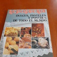 Libros de segunda mano: LIBRO REPOSTERIA EDICION I CENTENARIO CAJA DE AHORROS DE VALENCIA. Lote 192793001