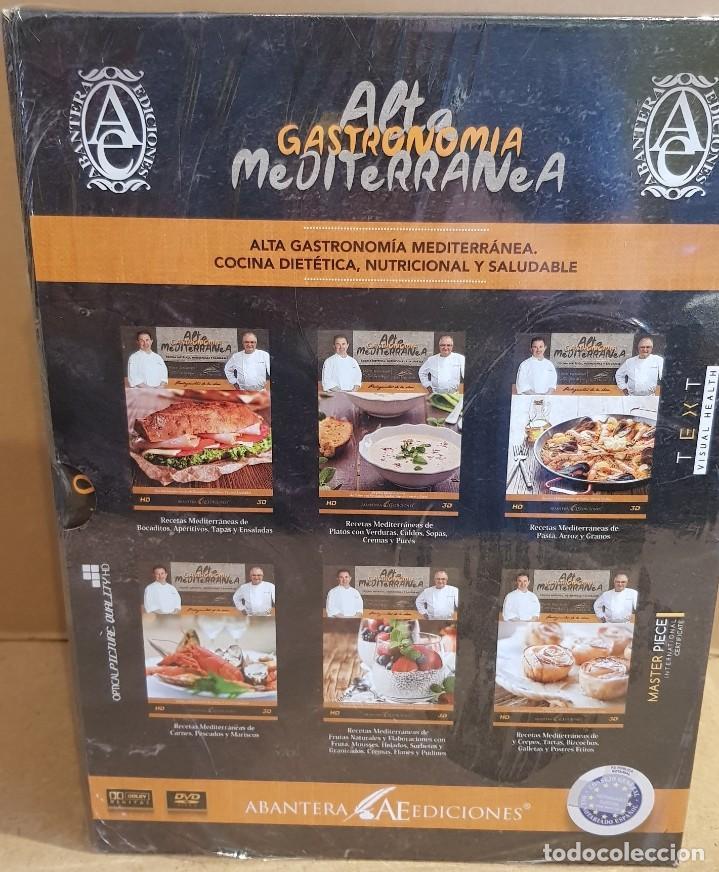 Libros de segunda mano: ABANTERA EDICIONES / ALTA GASTRONOMÍA MEDITERRÁNEA / EDICIÓN PREMIUM-LIMITADA / PRECINTADO / LEER. - Foto 6 - 192967183