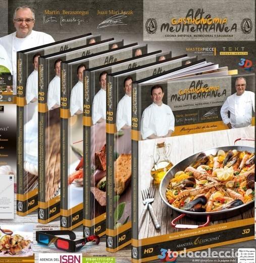 Libros de segunda mano: ABANTERA EDICIONES / ALTA GASTRONOMÍA MEDITERRÁNEA / EDICIÓN PREMIUM-LIMITADA / PRECINTADO / LEER. - Foto 7 - 192967183
