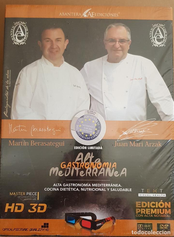 ABANTERA EDICIONES / ALTA GASTRONOMÍA MEDITERRÁNEA / EDICIÓN PREMIUM-LIMITADA / PRECINTADO / LEER. (Libros de Segunda Mano - Cocina y Gastronomía)