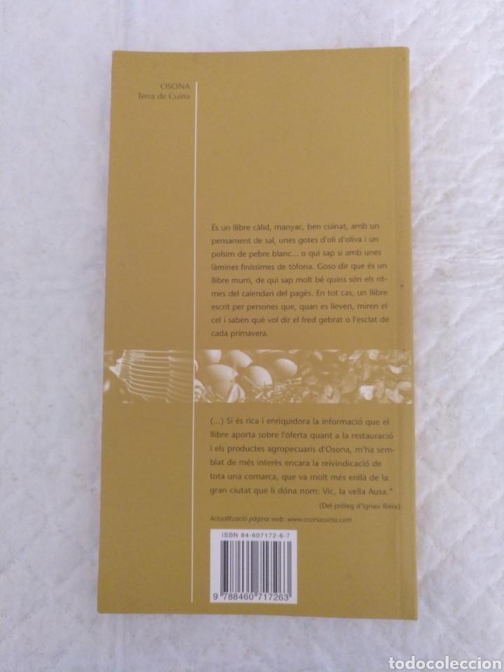 Libros de segunda mano: Osona, Terra de cuina. Libro - Foto 9 - 194062303