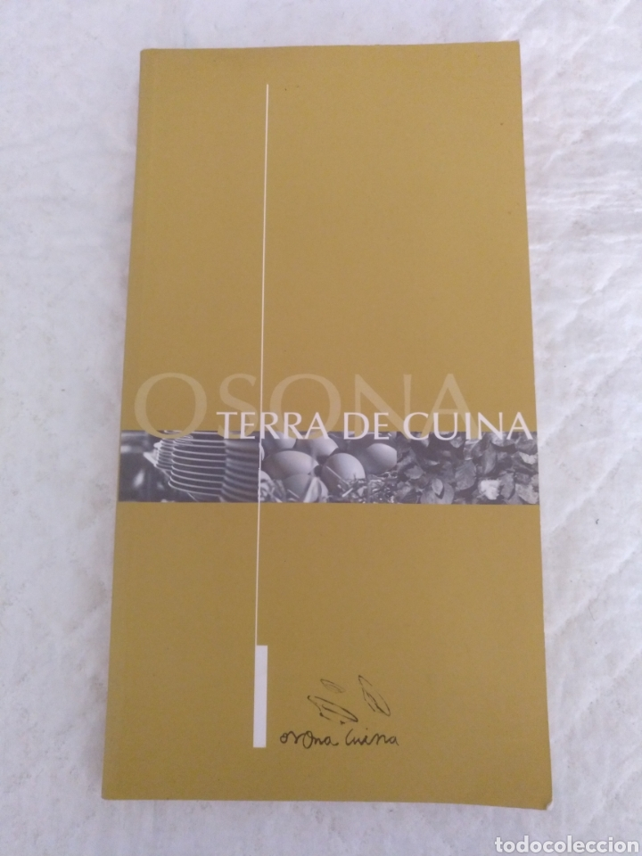 OSONA, TERRA DE CUINA. LIBRO (Libros de Segunda Mano - Cocina y Gastronomía)