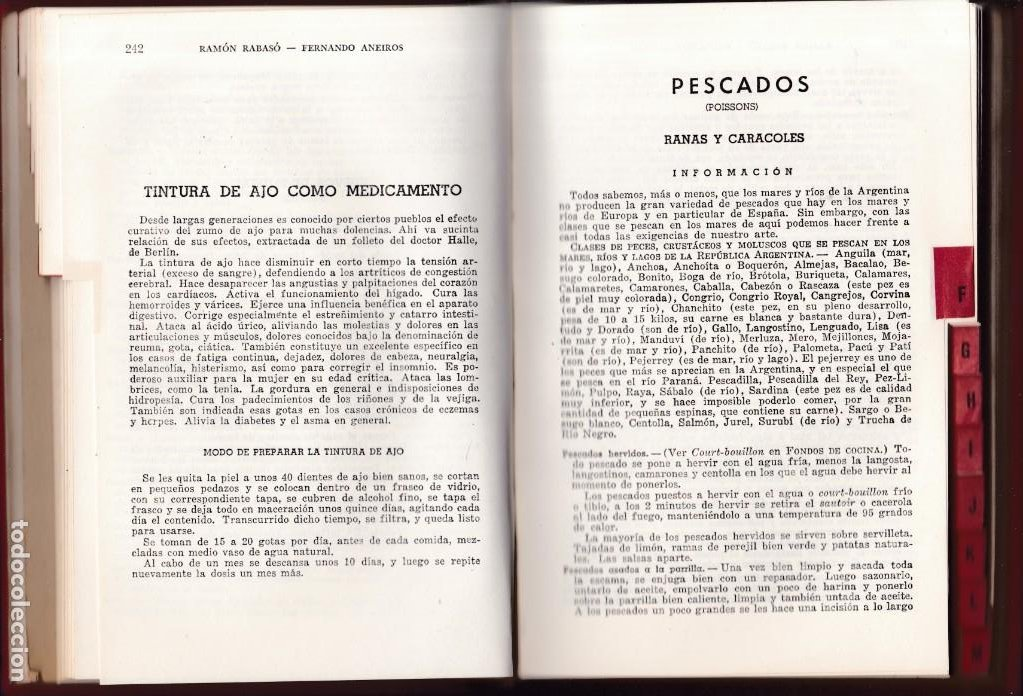 Libros de segunda mano: EL PRACTICO - COCINA Y PASTELERIA - 6.500 RECETAS - R.RABASO & F.ANEIROS - ARGENTINA 1974 - Foto 3 - 194063718