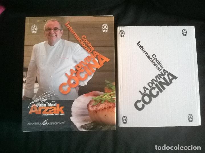 JUAN MARI ARZAK: LA DIVINA COCINA - 3 TOMOS + 5 DVDS + ACTA NOTARIA - ED. LIMITADA (2013) PRECINTADO (Libros de Segunda Mano - Cocina y Gastronomía)