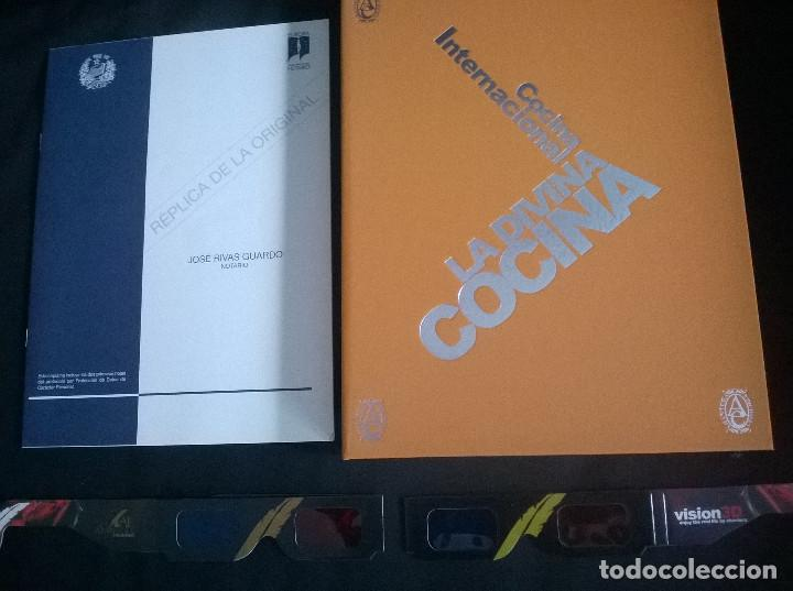 Libros de segunda mano: Juan Mari Arzak: La Divina Cocina - 3 tomos + 5 DVDs + acta notaria - ed. limitada (2013) precintado - Foto 2 - 194065812