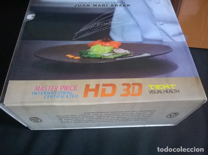Libros de segunda mano: Juan Mari Arzak: La Divina Cocina - 3 tomos + 5 DVDs + acta notaria - ed. limitada (2013) precintado - Foto 7 - 194065812