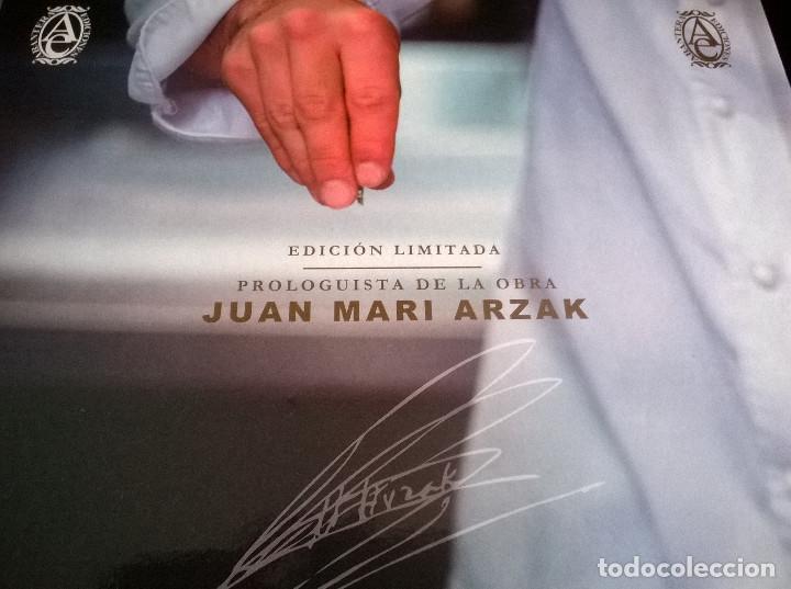 Libros de segunda mano: Juan Mari Arzak: La Divina Cocina - 3 tomos + 5 DVDs + acta notaria - ed. limitada (2013) precintado - Foto 8 - 194065812