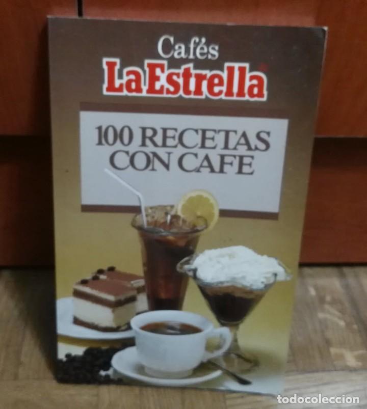 100 RECETAS CON CAFE CAFES LA ESTRELLA EDICIONES IBIS 1986 (Libros de Segunda Mano - Cocina y Gastronomía)