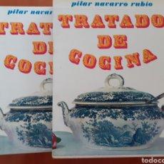 Libros de segunda mano: TRATADO DE COCINA. PILAR NAVARRO RUBIO. EDICIONES JOVER 1966. Lote 194180877