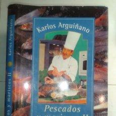 Libros de segunda mano: GUÍAS DE ALIMENTACIÓN Y NUTRICIÓN 3 PESCADOS Y MARISCOS II 2000 KARLOS ARGUIÑANO 1ª EDICIÓN IKERTEK. Lote 194183521