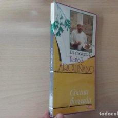 Libros de segunda mano: LA COCINA DE KARLOS ARGUIÑANO. COCINA FLOREADA. Lote 194185535