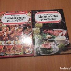 Libros de segunda mano: DOS LIBROS DE COCINA DE PLAZA & JANES. Lote 194233167