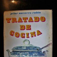 Libros de segunda mano: TRATADO DE COCINA. PILAR NAVARRO RUBIO. ED. JOVER. BARCELONA 1996. - PILAR NAVARRO RUBIO. Lote 194299175