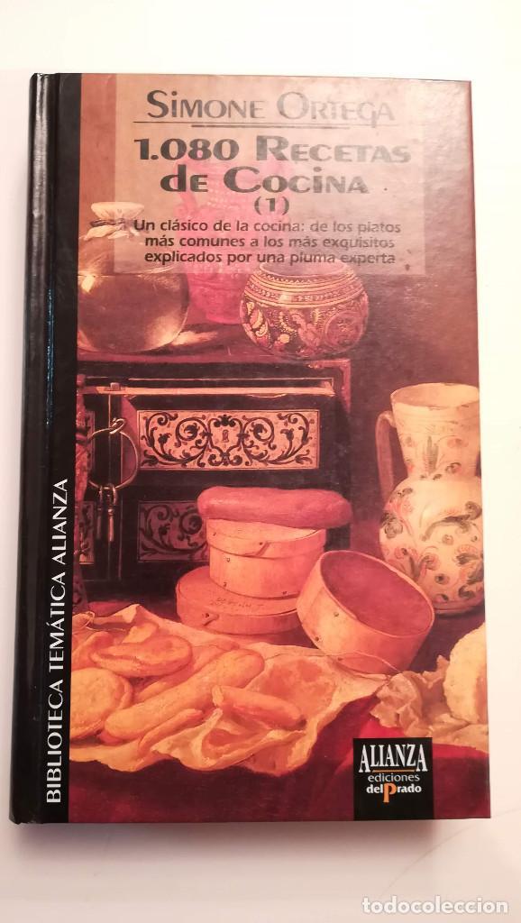1080 RECETAS DE COCINA (1) - SIMONE ORTEGA (Libros de Segunda Mano - Cocina y Gastronomía)