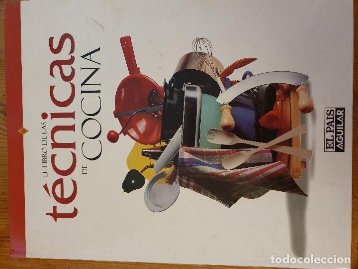 TÉCNICAS DE COCINA (Libros de Segunda Mano - Cocina y Gastronomía)