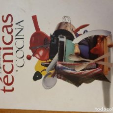 Libros de segunda mano: TÉCNICAS DE COCINA. Lote 194690112