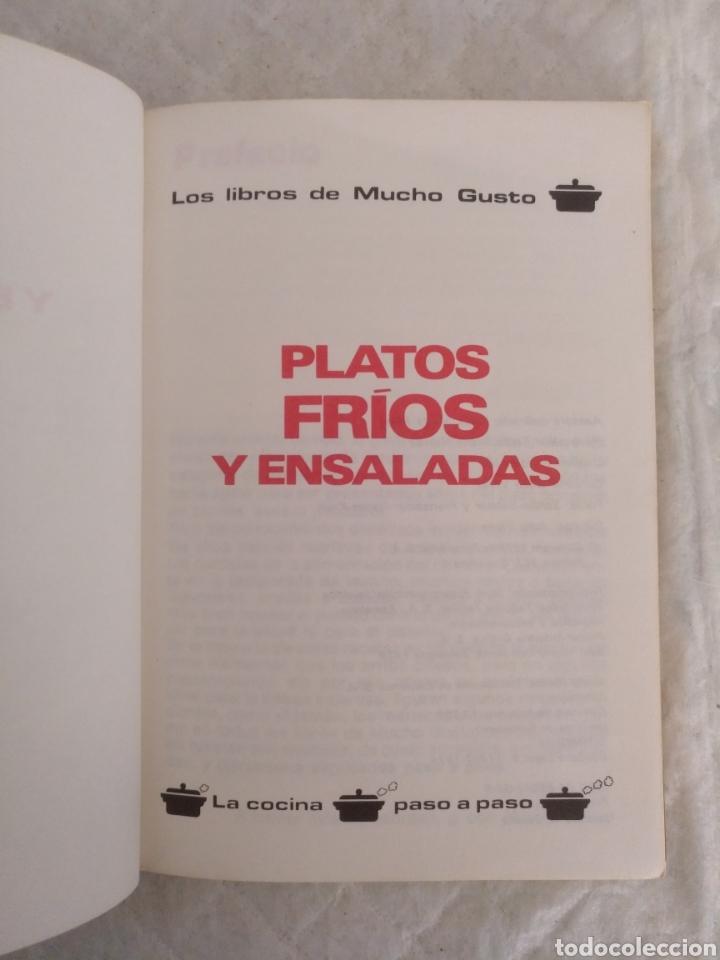 Libros de segunda mano: Platos fríos y ensaladas. Asesora culinaria Anna María Pérez. Los libros de mucho gusto 9. Libro - Foto 2 - 194868221