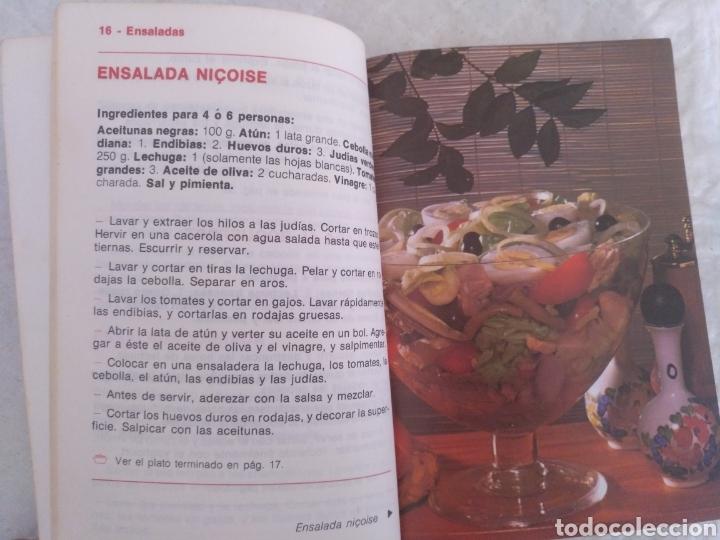 Libros de segunda mano: Platos fríos y ensaladas. Asesora culinaria Anna María Pérez. Los libros de mucho gusto 9. Libro - Foto 4 - 194868221