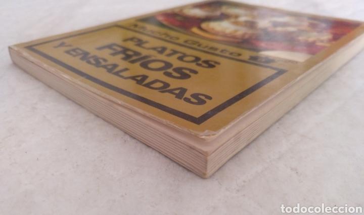 Libros de segunda mano: Platos fríos y ensaladas. Asesora culinaria Anna María Pérez. Los libros de mucho gusto 9. Libro - Foto 6 - 194868221