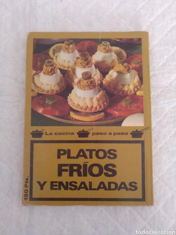 Libros de segunda mano: Platos fríos y ensaladas. Asesora culinaria Anna María Pérez. Los libros de mucho gusto 9. Libro - Foto 8 - 194868221