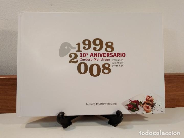 RECETARIO DE CORDERO MANCHEGO. 1998-2008. 10º ANIVERSARIO CORDERO MANCHEGO. (Libros de Segunda Mano - Cocina y Gastronomía)
